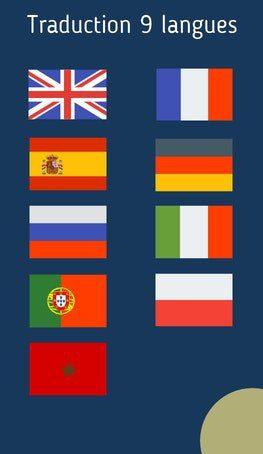 traduction 9 langues