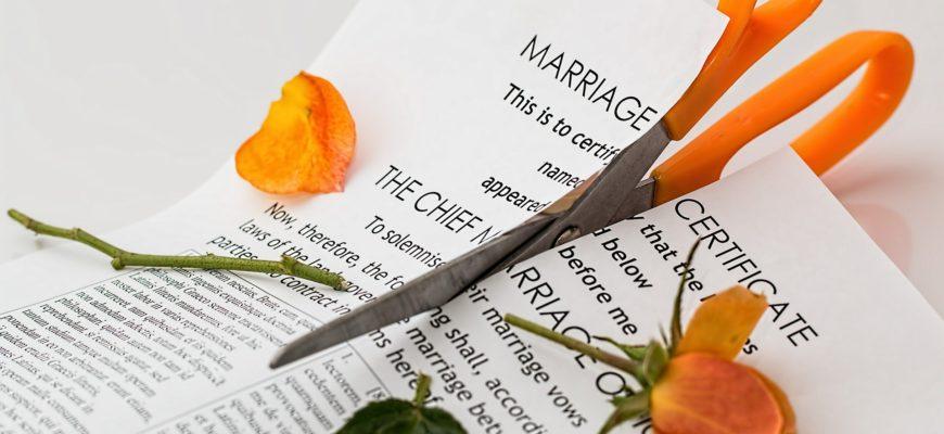 certificat de mariage coupé